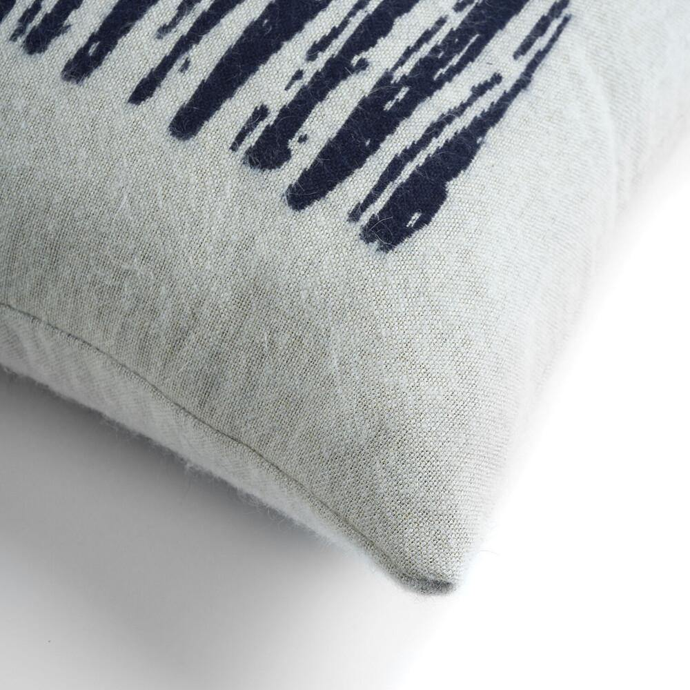 White Lines Cushion-TEXTILES-Maker & Moss