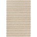 Wool and Jute Striped Rug-DECORATIVE-Maker & Moss