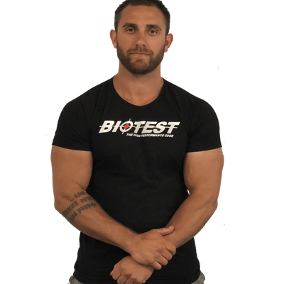 Biotest Signature Seamless T-Shirt | BiotestUK