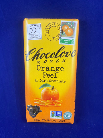 Chocolove Orange Peel