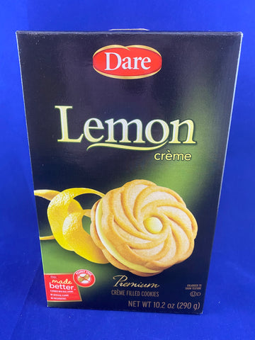 Dare Lemon Creme, 10.2 oz