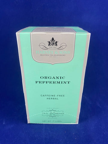 Harney & Sons Organic Peppermint, 20 ct.