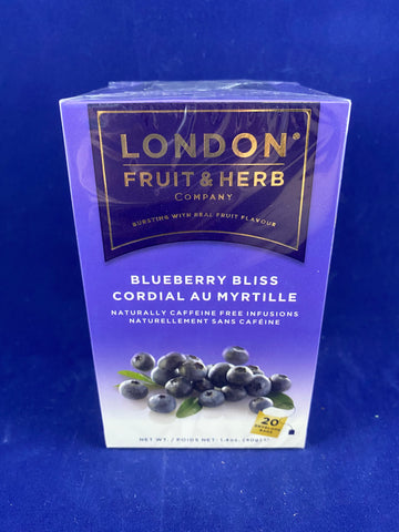 London Fruit & Herb Blueberry Bliss, 20 ct.