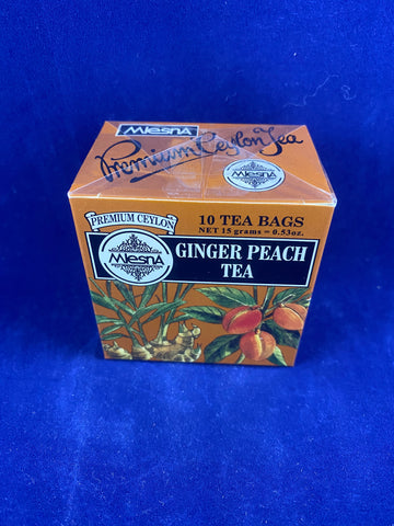 Metropolitan Tea Company Ginger Peach, 10 ct.