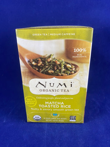 Numi Toasted Rice, 18 ct.