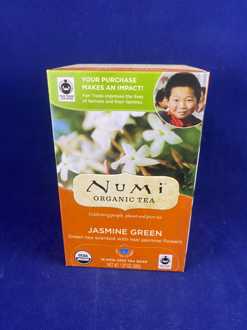 Numi Jasmine Green, 18 ct.