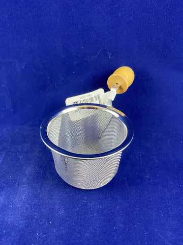 "G+H 2 1/2"" Tea Strainer w/Wooden Handle"