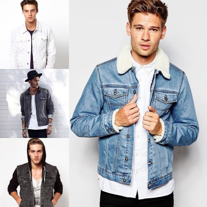 15 Easy Ways To Look Sharp with Denim for Men