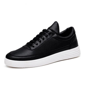 Leather Casual Shoes - HORZO
