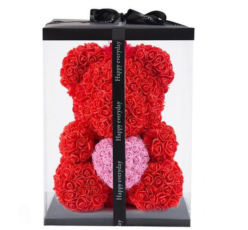 Luxury Rose Bear - HORZO