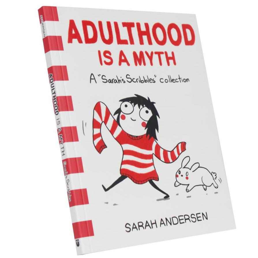 "Sarah's Scribbles: ""Adulthood Is A Myth"" SIGNED"