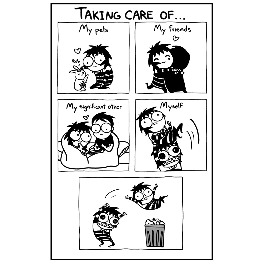"""TAKING CARE OF..."" Print"