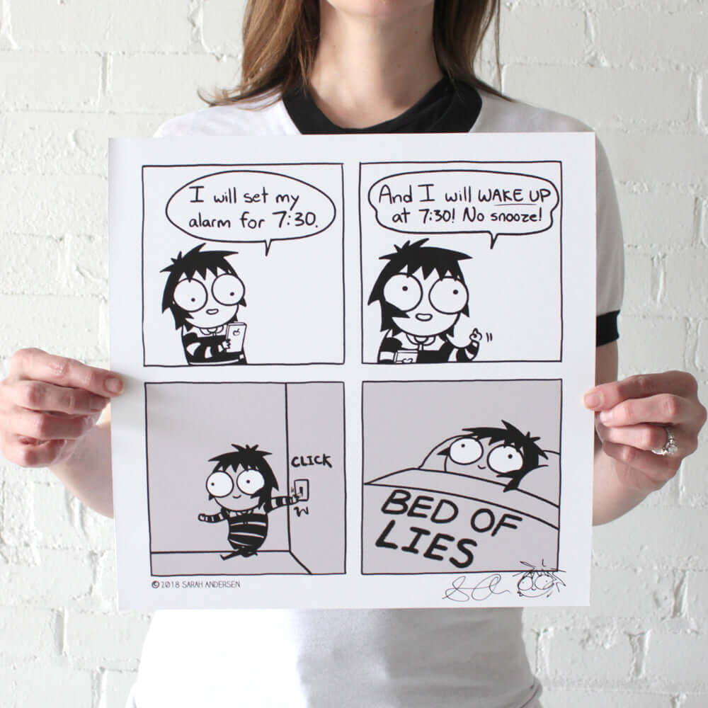 """BED OF LIES"" Print"