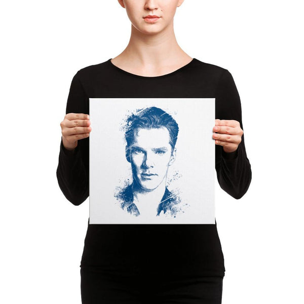 Benedict Cumberbatch - Canvas Art 12×12 Canvas Chadlonius