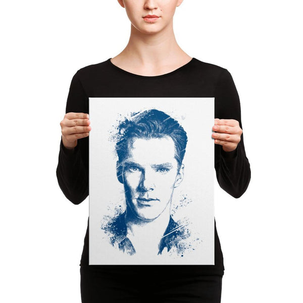 Benedict Cumberbatch - Canvas Art 12×16 Canvas Chadlonius