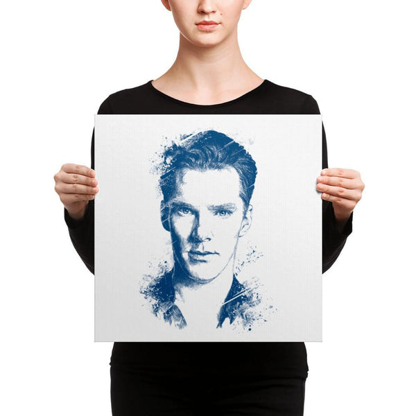 Benedict Cumberbatch - Canvas Art 16×16 Canvas Chadlonius
