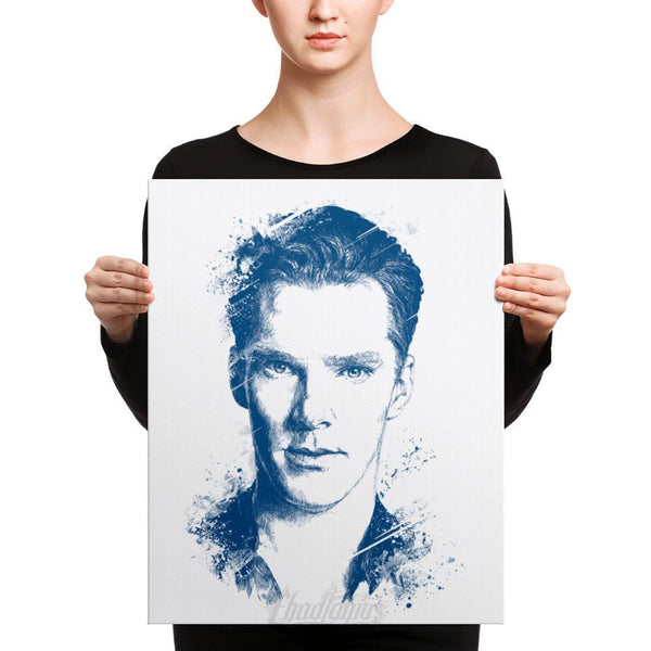 Benedict Cumberbatch - Canvas Art 16×20 Canvas Chadlonius