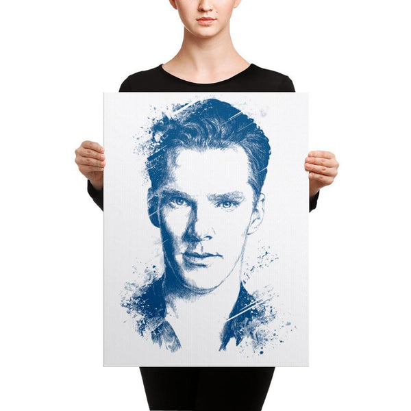 Benedict Cumberbatch - Canvas Art 18×24 Canvas Chadlonius
