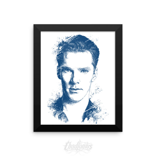 BENEDICT CUMBERBATCH - Framed photo paper poster