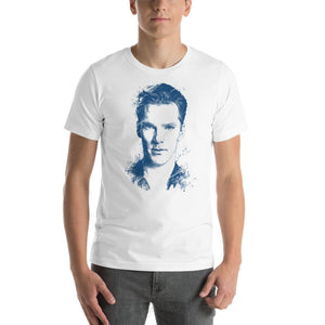 Benedict Cumberbatch - Short-Sleeve Unisex T-Shirt White / S Mens Shirts Chadlonius