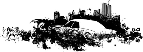 City Scene Ghetto Vector Vector Chadlonius