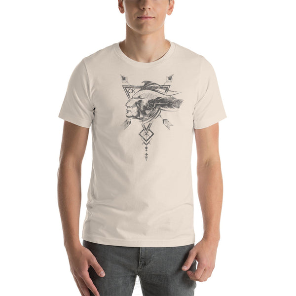 THE NATIVE - Native American Inspired Unisex T-Shirt