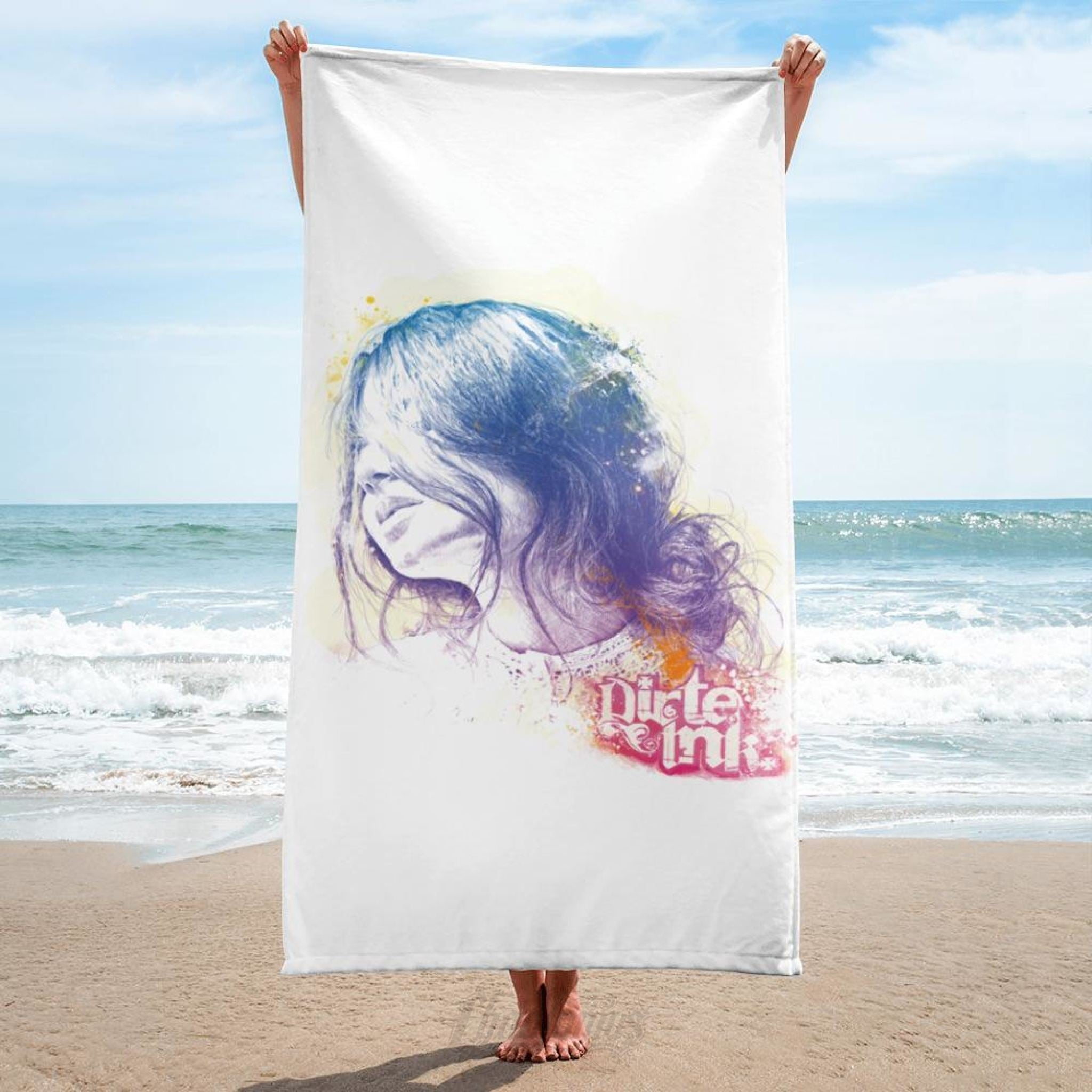 Dirte Inke - Memory Of A Moment - Towel Towels Chadlonius