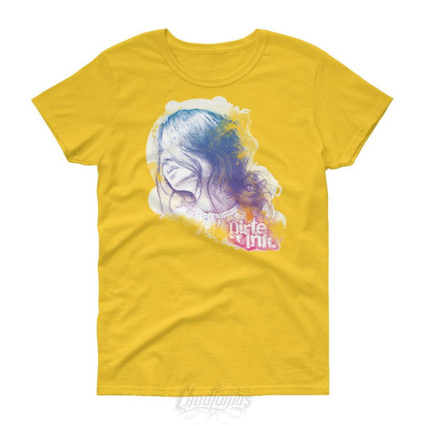 Dirte Inke - Memory Of A Moment -Womens Short Sleeve T-Shirt Daisy / S Womens Shirts Chadlonius