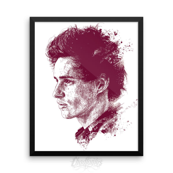 EDDIE REDMAYNE - Framed photo paper poster