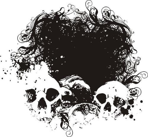 FEAR Free Vector Skulls Download