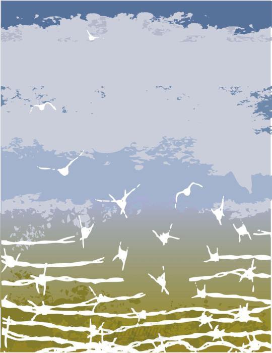 Fence To Freedom Concept Vector Art Vector Chadlonius