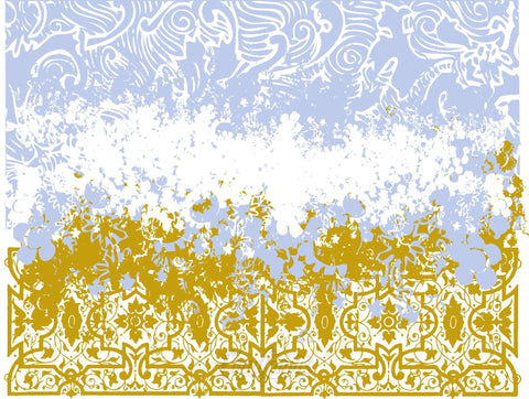 Floral Grunge Pattern Background Vector Free Vector Chadlonius