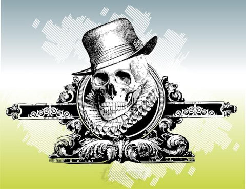 Free Royal Skull Vector Design Free Vector Chadlonius