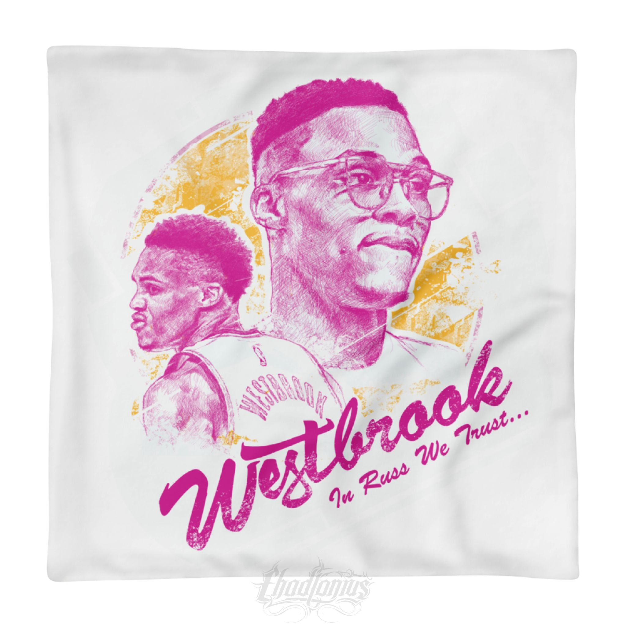 IN RUSS WE TRUST - Square Pillow Case only