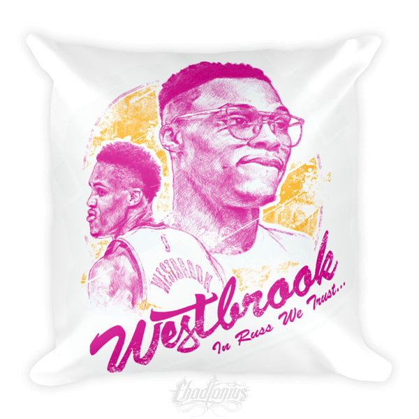 IN RUSS WE TRUST - Square Pillow
