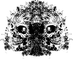 Mirror Tattoo Skulls Vector Chadlonius