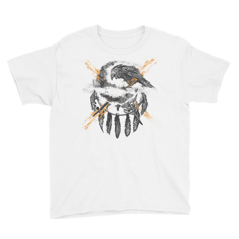 THE CROW - Native American Inspired art Youth T-Shirt