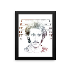 H.I. McDUNNOUGH - RAISING ARIZONA - Framed photo paper poster