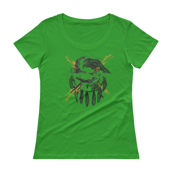 THE CROW - Native American Inspired Ladies' T-Shirt