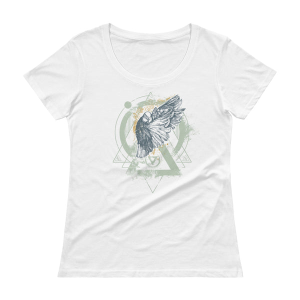 ENIGMA - Ladies' Scoopneck T-Shirt