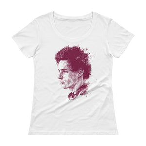 EDDIE REDMAYNE - Ladies' Scoopneck T-Shirt