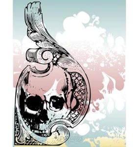 Money Skull Ornamental Vector Vector Chadlonius