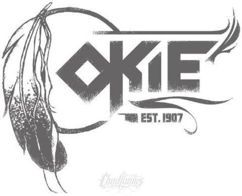 OKIE - Ladies' Scoopneck T-Shirt
