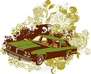 Retro Car Vector Design - Crown Victoria Vector Chadlonius