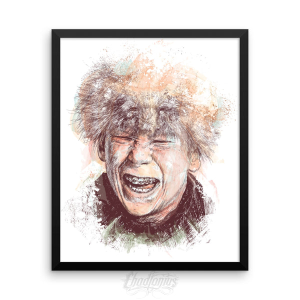 SCUT FARKUS - Framed photo paper poster