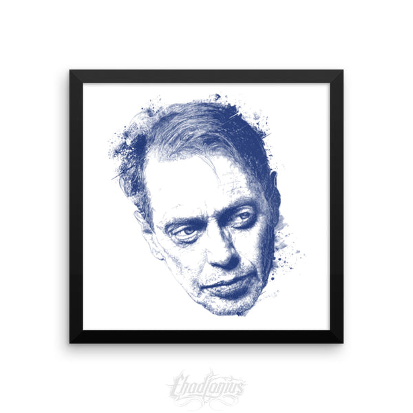STEVE BUSCEMI ROCKS - Framed photo paper poster