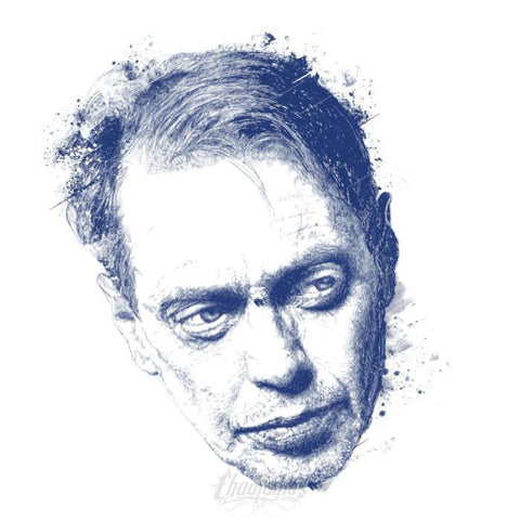 STEVE BUSCEMI ROCKS - Ladies' Scoopneck T-Shirt