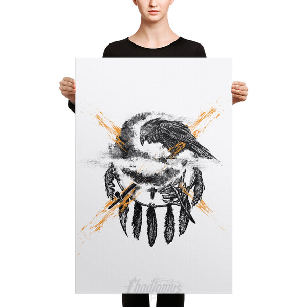 THE CROW - Canvas
