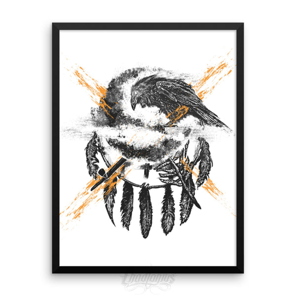 THE CROW - Framed photo paper poster