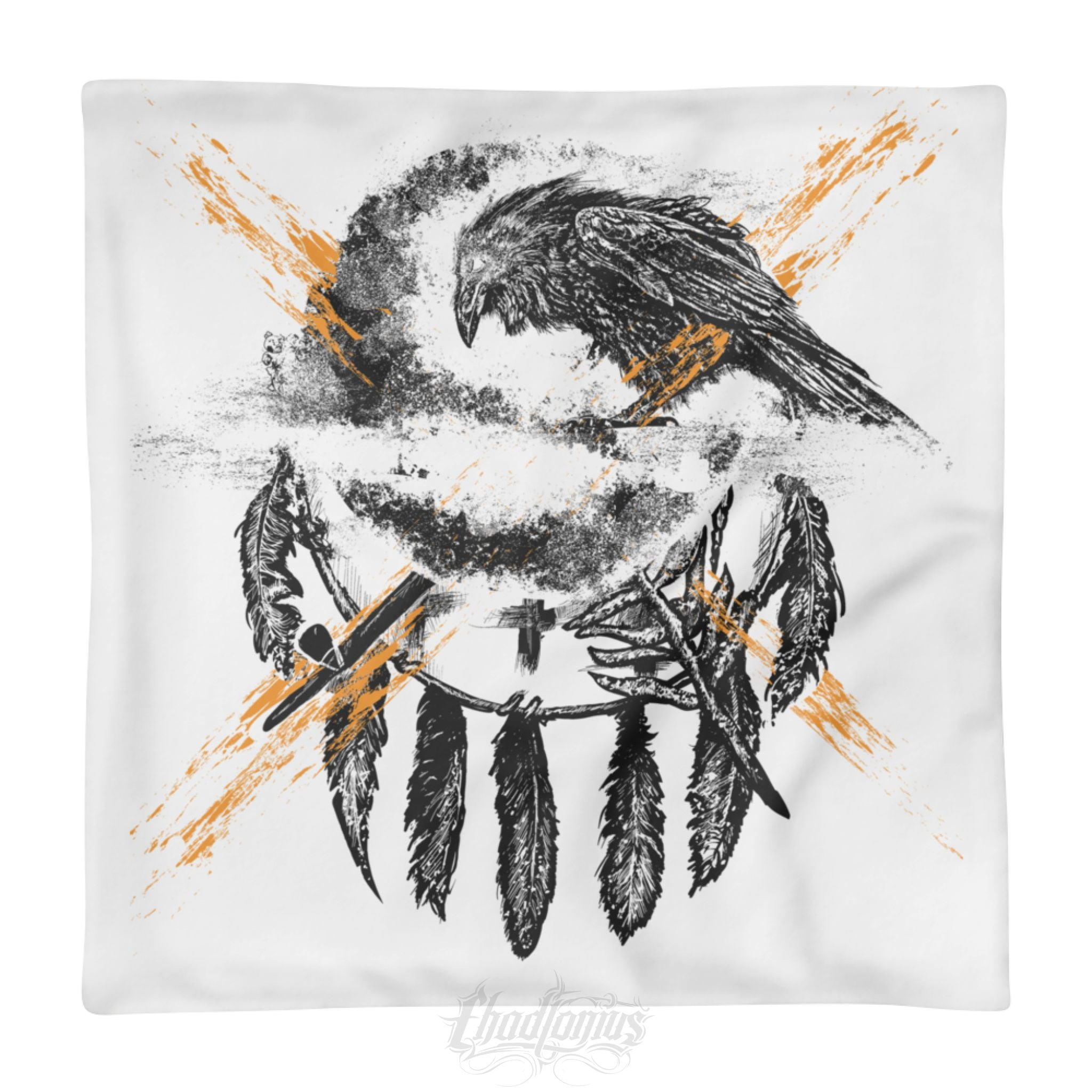 THE CROW - Square Pillow Case only